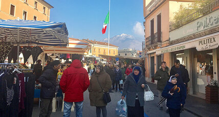 Italian town that models migrant integration feels national election's bite